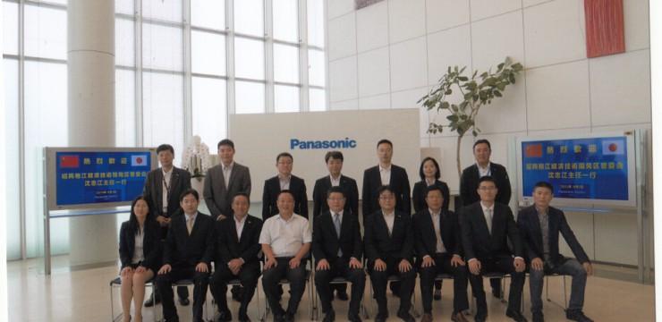 我司总经理参加政府考察团,参观访问韩国、日本机械电子等企业