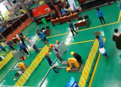 """我司举办 2019年""""埃克森杯""""电梯安装维修工职业技能竞赛"""